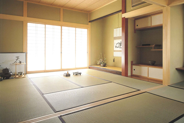 伝統が息づく本格仕様の和室