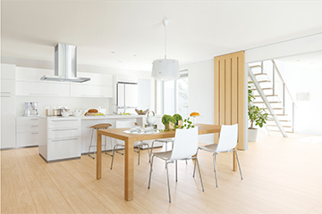 デザイン性と機能性を両立したキッチン